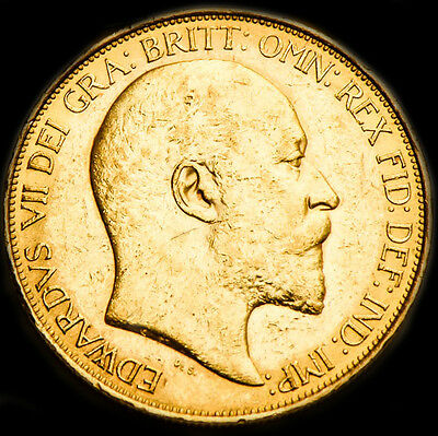 King Edward The Vii 1902 £5 Gold Sovereign