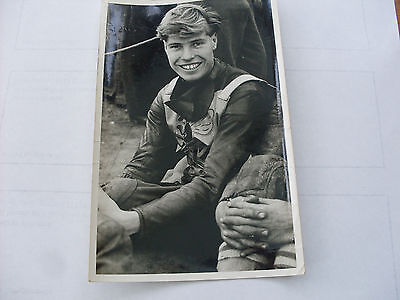 Speedway Photograph--Les Owen (Coventry)   (012)