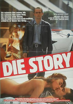 Die Story * Sybille Rauch * Filmposter/filmplakat/a-1
