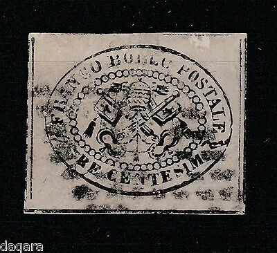 B. 872 - Italy stamps, 1852, Roman States