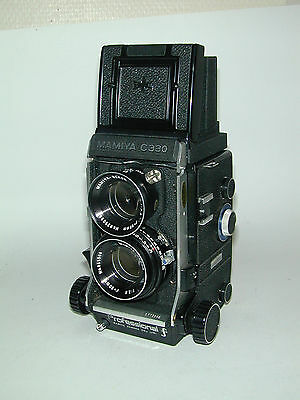 MAMIYA C 330 F PROFESSIONNEL F objectif lens 2.8/80 pour photo photographie 6X6