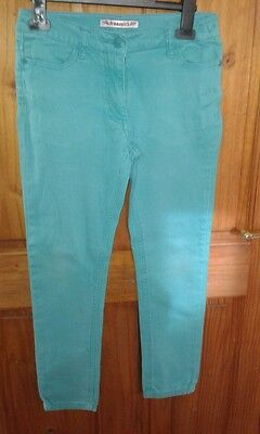 Lovely Pair Of Green Girls Skinny Jeans Aged 11 Years