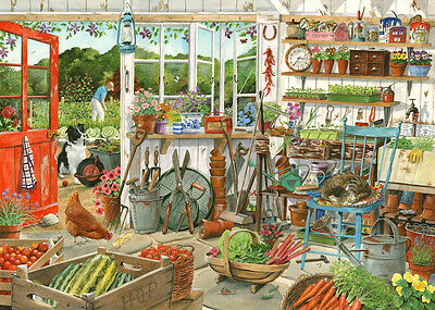 The House Of Puzzles - 1000 PIECE JIGSAW PUZZLE - Potting Shed