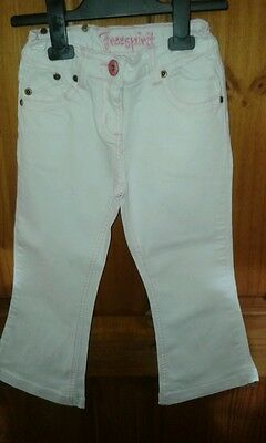 Lovely White Girls Jeans Aged 5 Years