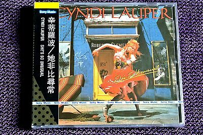 Cyndi Lauper She's So Unusual Taiwan Ltd w/obi CD Sealed 1985 RARE