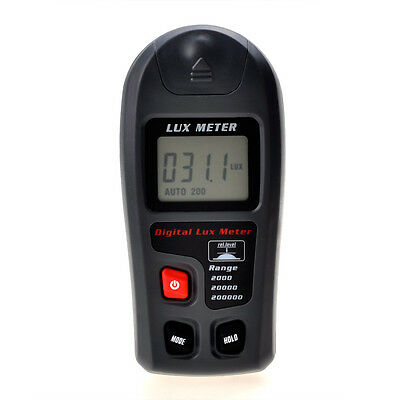 Digital Light Meter Luminometer Luxmeter Photometer Lux/FC Portable new