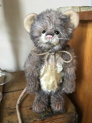 Charlie Bear Bubble Mohair Mouse Limited Edition