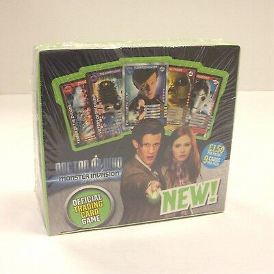 2009 Dr Who Monster Invasion TRADING CARDS 24 PACKS FULL BOX UNOPENED NEW SEALED