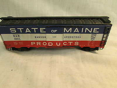 Vintage Varney HO Scale State of Maine Box Car #5047
