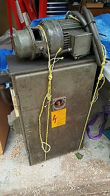 Deckel FP3 / FP3L Milling Machine Electrical Control Box and Motor