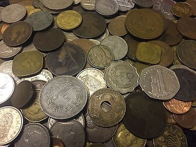 1KG+ Coin collection ,unsorted GB&World coins See Pictures # lot 2