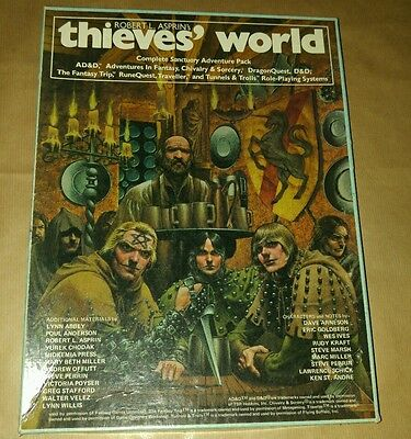 Thieves' World role playing game VINTAGE CHAOSIUM INC RARE Robert L. Asprin