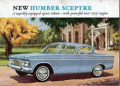 Humber Sceptre 8 Sided Brochure 1966 8 Sided Brochure SEE PICS (A09)