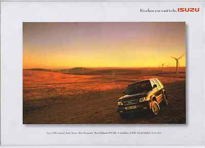 Isuzu: Trooper Range My 2000 Brochure (F10)