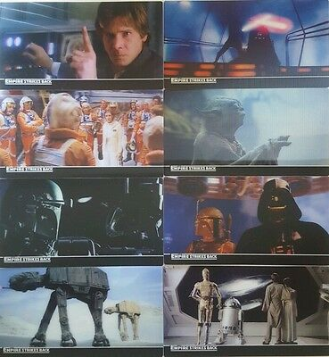 STAR WARS The Empire Strikes Back 3D Widevision  Card SET Of 48 topps