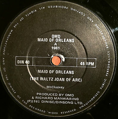 Orchestral Manoeuvres In The Dark , Maid Of Orleans , Uk  , Omd , Din 40