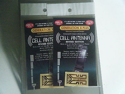 2 x New Mobile Phone Cell Antenna Boosters Generation X Nokia, Apple, Samsung