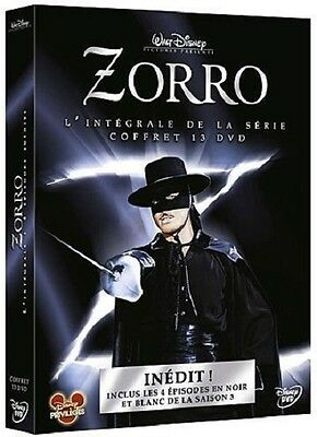ZORRO : THE COMPLETE SERIES 1 2 & 3  + SPECIALS   - DVD - PAL  Region 2 - New