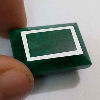 46.21 Ct Natural Ultimate Certified Green Emerald Octagon Gemstone