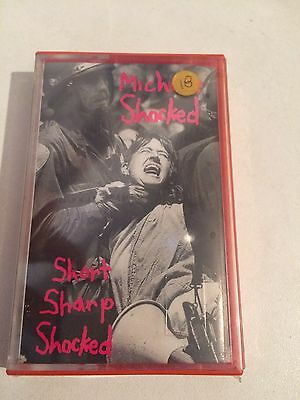 Michelle Shocked - Short Sharp Shocked MC cassetta tape Sealed
