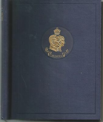 King George Vi 1937 Coronation Omnibus Book All 202 Stamps Mm