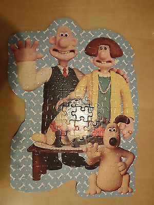 Shaped jigsaw puzzle:Wallace and Gromit, A Close Shave.