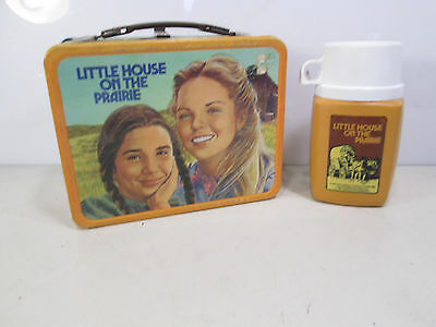1978 Little House on the Prairie Lunch Box w/Matching Thermos