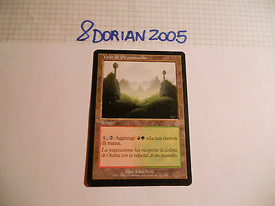 1x MTG Valle di Piromuschio-Mossfire Valley Magic EDH ODY Odissea ITA-ING x1
