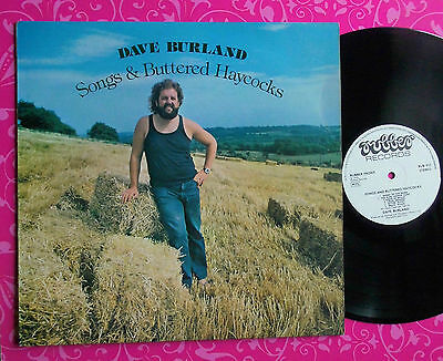 DAVE BURLAND Songs And Buttered Haycocks LP RUBBER RUB012 UK 1stP 1975 NM