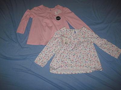 Girl clothes  long sleeve tops NEW 18-24months