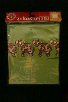 1 Kids Childrens T Shirts - Brand New KUKUXUSU four cows(green)