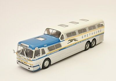 HACHETTE MODELS 1:43 SCALE VINTAGE Greyhound Scenicruiser USA 1956  BUSES   NIB