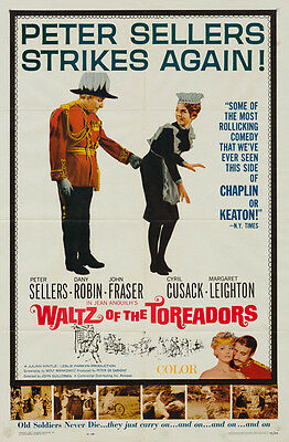 Waltz of the Toreadors, US 1 sheet, Film/ Movie poster, Peter Sellers,1962