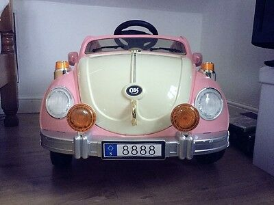 classic beetle 12V electric ride on car