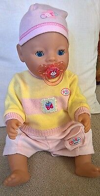 Lovely Baby Born Jumper Doll Toy Childrens Girls Clothes Present Gift