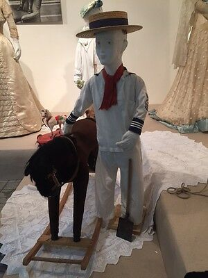 Antique children's costume 1900-1920 year. USA. For a boy of 7-8 years.