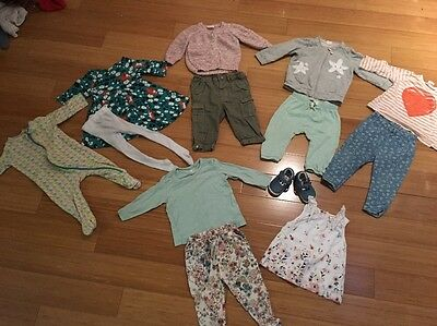 Baby Girl 6-9 Clothes Bundle