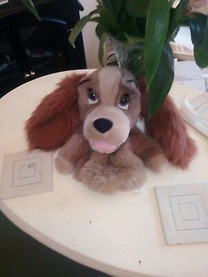 walt disney hand puppet lady from lady &tramp