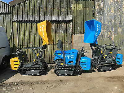 New Messersi CH2 800kg Track Hydrostatic Dumpers - Tracked High Tip self loader