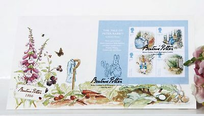 Fdcovers PG005M Beatrix Potter First Day Cover 2016