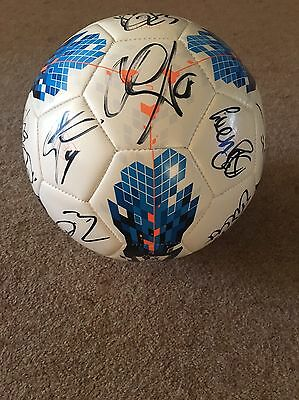 Norwich City Signed Football 17 Plus Autographs Mint 2010/2011 Season