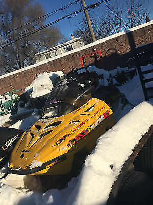 2001 Ski-Doo MXZ 500 Snowmobile Excellent Working Condition Mileage: 2009.1