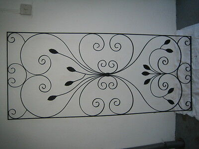 wrought iron decorative panels