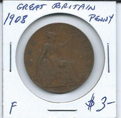 Great Britain 1908  Penny