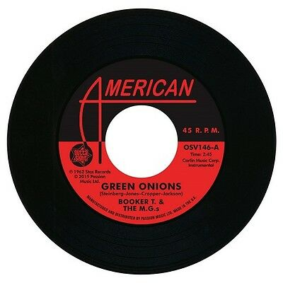 "BOOKER T & THE MGs Green Onions NEW NORTHERN SOUL 45 (OUTTA SIGHT) 7"" Vinyl 60s"
