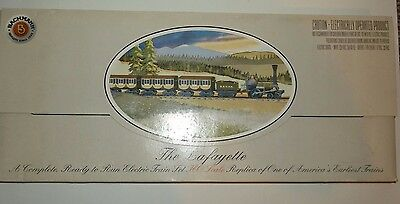 The Lafayette HO Scale Complete, Ready to Run Electric Train Set B & O