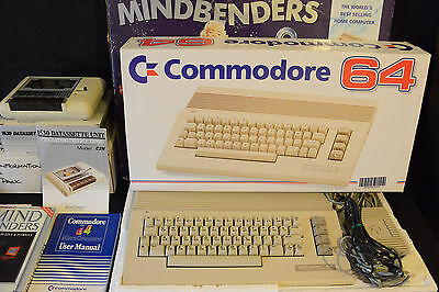 Commodore 64 Mindbenders - Night Moves - BOXED - Great- TESTED- Home Computer