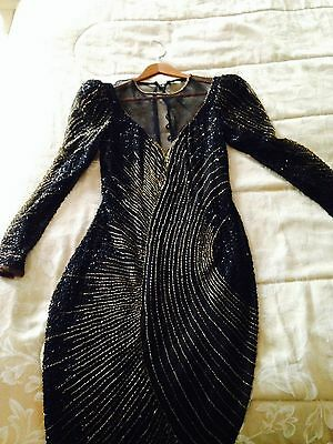 """Lynda Carter Sequenc Beaded Gown worn in """"I Can't Believe It's Not Butter"""" spot"""