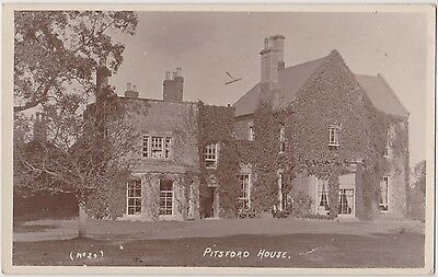 RP Pitsford House, Northamptonshire. posted 1917