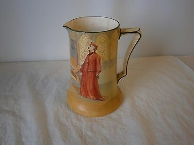 Royal Doulton Series Ware Jug Pitcher Literary series Wolsey Religious Church